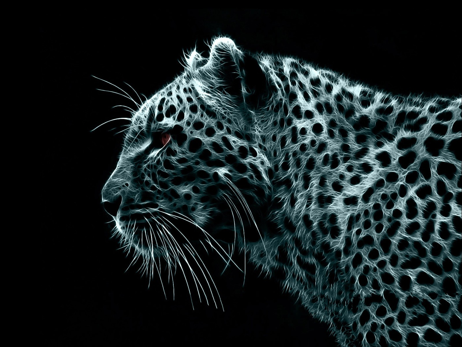 Leopard Abstract Wallpaper 1600x1200 px